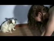 สองผัวเมียเย็ดกันในห้อง เย็ดท่าหมา กระเด้ากันตับๆอย่างดัง เย็ดโชว์หมาแมว ต้องดู!! อย่างฮา