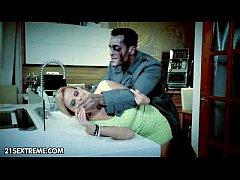 Halloween กินตับสาวในคืนปล่อยผี แฟรงกิ้น สไต บุกข่มขืนเหยื่อสาวเย็ดหีอย่างซาดิส จับมัดซอยควยเย็ดวนไป