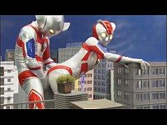 Ultramen Sex หนังโป๊อุลตร้าแมนเย็ดกับอุลตร้าเลดี้ กระเด้าหีท่าหมากลางเมือง XXXแนวการ์ตูนสุดหื่นได้อารมณ์จริงๆ