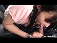 หนัง xxx HD สาวญี่ปุ่นขี้เงี่ยนอมควยให้แฟนหนุ่มบนรถข้างถนน pornเงี่ยนหีกลางทางแวะจอดข้างทางขออมควยแฟนหนึ่งน้ำเงี่ยน-